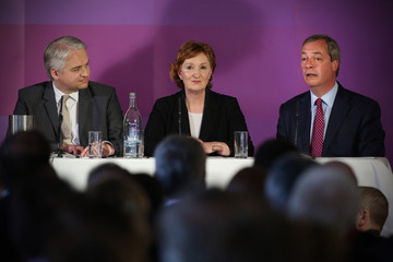 Suzanne Evans UKIP Launch Their Election Manifesto