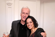 James Cameron and Michelle Rodriguez attends Suzy Amis Cameron's 10-Year Anniversary Of RCGD Celebration on February 21, 2019 in Beverly Hills, California.