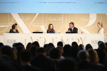 Suzy Menkes Sophie Hackford Conde' Nast International Luxury Conference - Day 2