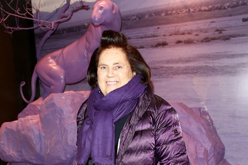 Suzy Menkes Arrivals at Prada the Iconoclasts