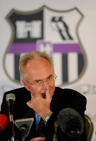 Sven Goran Eriksson Press Conference