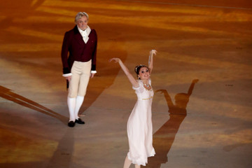 Svetlana Zakharova Winter Olympic Games Opening Ceremony