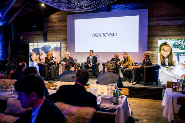Swarovski Nightcap And Dinner At The World Economic Forum In Davos