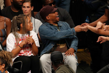 Sway Calloway Celebrities Attend The BIG3 Championship