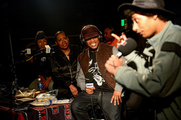Sway Calloway Tracy G SiriusXM's 'Sway in the Morning' on Shade 45 Hosted by Sway Calloway Broadcasts Live From Denver