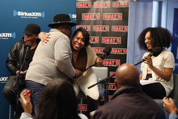 Sway Calloway Tracy G SiriusXM's 'Town Hall' with the Cast of 'Barbershop: The Next Cut': Town Hall to Air on Eminem's Exclusive SiriusXM Channel Shade 45
