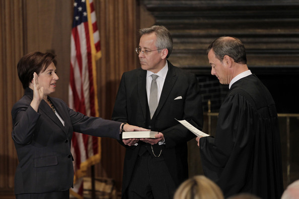 Swearing-In Cermony For Supreme Court Justice Elena Kagan