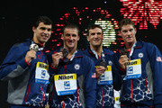 Ryan Lochte and Ricky Berens Photos Photo