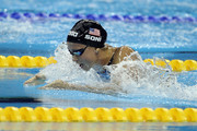Rebecca Soni of the United States competes in the Women's 50m Breaststroke Semi Final during Day Fifteen of the 14th FINA World Championships at the Oriental Sports Center on July 30, 2011 in Shanghai, China.