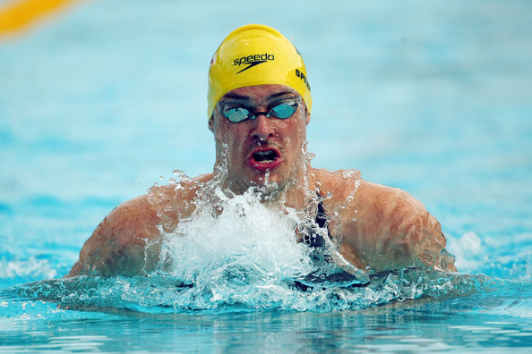 Christian Sprenger of Australia competes in the Men's 200m Breaststroke Final during the 13th FINA World Championships at the Stadio del Nuoto on July 31, 2009 in Rome, Italy.