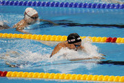 Rebecca Soni (R) of the United States and Marina Garcia Urzainque of Spain compete in the second semifinal heat of Women's 200m Breaststroke during Day Thirteen of the 14th FINA World Championships at the Oriental Sports Center on July 28, 2011 in Shanghai, China.