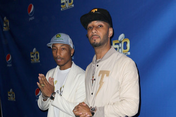 Swizz Beatz The 2015 Pepsi Rookie of the Year Award Ceremony and Pharrell Concert at Pepsi Super Friday Night At Pier 70 In San Francisco