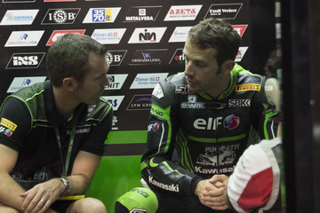 Sylvain Guintoli FIM Superbike World Championship in Qatar - Race 1