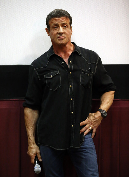 stallone actor sylvester stallone attends the escape plan screening