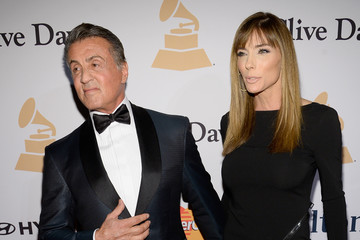 d3dbaadd Sylvester Stallone Jennifer Flavin 2016 Pre-GRAMMY Gala And Salute to  Industry Icons Honoring Irving