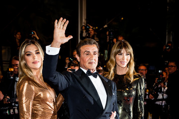 Sylvester Stallone Sistine Rose Stallone Colour Alternative View - The 72nd Annual Cannes Film Festival