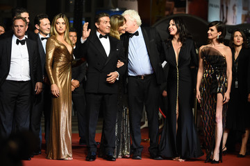 Sylvester Stallone Sophia Rose Stallone 'Rambo - Last Blood' Red Carpet - The 72nd Annual Cannes Film Festival