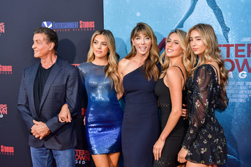 Sylvester Stallone Sophia Rose Stallone L.A. Premiere Of Entertainment Studios' '47 Meters Down Uncaged' - Arrivals