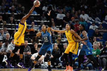 Sylvia Fowles 2016 WNBA Finals - Game Two