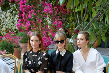 Sylvia Hoeks CFDA/Vogue Fashion Fund Show and Tea at Chateau Marmont