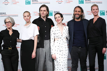 Sylvia Hoeks Synnove Macody Lund 'The Girl In The Spider's Web' Photocall - 13th Rome Film Fest