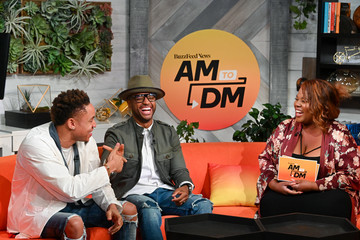 Sylvia Obell Celebrities Visit BuzzFeed's 'AM To DM' - August 19, 2019