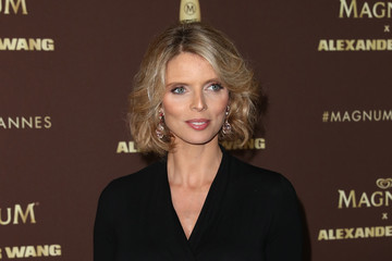 Sylvie Tellier Magnum VIP Party Arrivals - The 71st Annual Cannes Film Festival