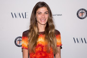 Elisa Sednaoui arrives for The Syrian American Medical Society hosts the Voices in Displacement Gala at Riviera 31 at Sofitel on May 4, 2018 in Los Angeles, California.