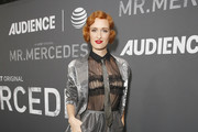 Actress Breeda Wool attends AT&T AUDIENCE Network SAG screening and panel for Mr. Mercedes Season 3 at Linwood Dunn Theater in the Pickford Center for Motion Study on September 10, 2019 in Hollywood, California.