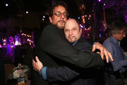 """Jason Alexander and Peter Tilden attend the AT&T AUDIENCE Network Premieres """"Loudermilk"""" And """"Hit The Road"""" on October 10, 2017 in Los Angeles, California."""