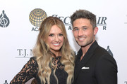Carly Pearce and Michael Ray  attend The T.J. Martell Foundation Nashville Best Cellars 2019 at the Loews Vanderbilt Hotel on April 22, 2019 in Nashville, Tennessee.