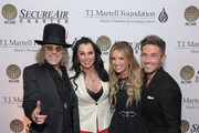 Christiev Carothers, Big Kenny and Carly Pearce and Michael Ray attend The T.J. Martell Foundation Nashville Best Cellars 2019 at the Loews Vanderbilt Hotel on April 22, 2019 in Nashville, Tennessee.