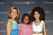 (L-R) Honoree Hoda Kotb, host Robin Quivers, and singer Jetta attend the T.J. Martell Foundation's Women of Influence Awards on May 1, 2014 in New York City.