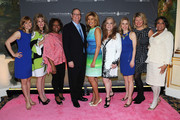 (L-R) Megan Sikora, Laura Heatherly, Robin Quivers, Charlie Feldman, Hoda Kotb, Randi Rahm, Kerry Butler, Marcie Allen, and Cathy Hughes attend the T.J. Martell Foundation's Women of Influence Awards on May 1, 2014 in New York City.