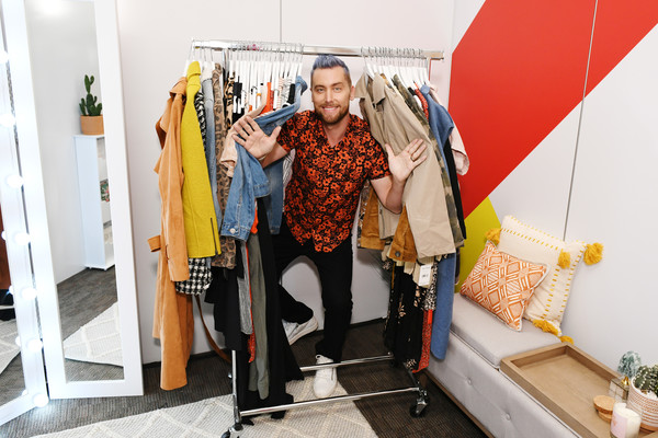 T.J.Maxx And Lance Bass Take 'The Changing Room' In-Store