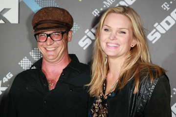 Sunny Mabrey Ethan Embry T-Mobile Sidekick 4G Launch Event - Arrivals