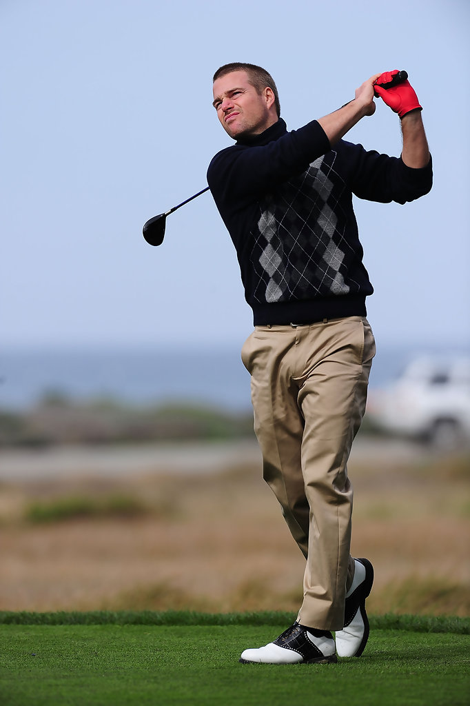 Chris ODonnell Photos Photos ATampT Pebble Beach National Pro Am Round One Zimbio