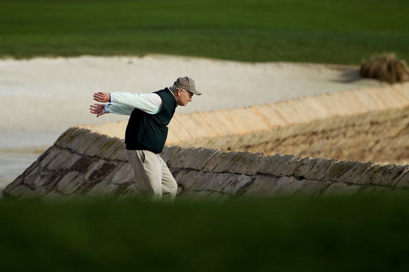 The Best Pictures of Bill Murray Playing Golf