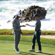 Dustin Johnson and Jordan Spieth Photos