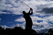 Phil Mickelson of the United States plays his shot from the fifth tee during the third round of the AT&T Pebble Beach Pro-Am at Pebble Beach Golf Links on February 09, 2019 in Pebble Beach, California.