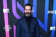 Jon Hamm attends AT&T TV Super Saturday Night at Meridian at Island Gardens on February 01, 2020 in Miami, Florida.
