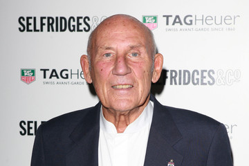 Sir Stirling Moss TAG Heuer - 150th Anniversary Party Arrivals