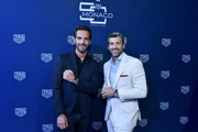 Jean-Eric Vergne and Patrick Dempsey attend a TAG Heuer celebration of  50 years of the iconic Monaco Timepiece with brand ambassador Patrick Dempsey on July 10, 2019 in New York City.