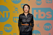 Ann Curry poses in the green room during the TBS + TNT Summer TCA 2019 at The Beverly Hilton Hotel on July 24, 2019 in Beverly Hills, California. 596650