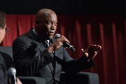 Director/producer John Singleton speaks onstage at the 'Boyz n the Hood' screening during day 2 of the TCM Classic Film Festival 2016 on April 29, 2016 in Los Angeles, California. 25826_008