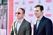 Director Tom McCarthy (L) and writer Josh Singer attend 'All The President's Men' premiere during the TCM Classic Film Festival 2016 Opening Night on April 28, 2016 in Los Angeles, California. 25826_006