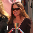 Barbara Hershey TCM Classic Film Festival Honors Peter O'Toole At A Hand And Footprints Ceremony At Grauman's Chinese Theatre