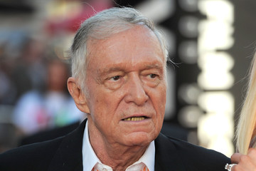 """Hugh Heffner TCM Classic Film Festival Opening Night Gala And World Premiere Of """"An American In Paris"""" - Red Carpet"""