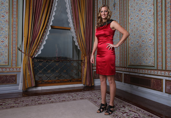 Petra Kvitova of Czech Republic poses for a portrait during previews for the TEB BNP Paribas WTA Championships - Istanbul on October 21, 2012 in Istanbul, Turkey.