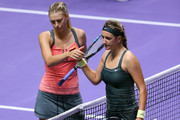 Maria Sharapova and Victoria Azarenka Photos Photo